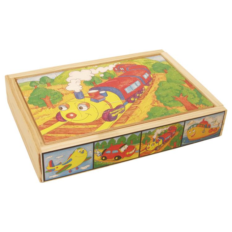 Puzzle mijloace de transport-5267