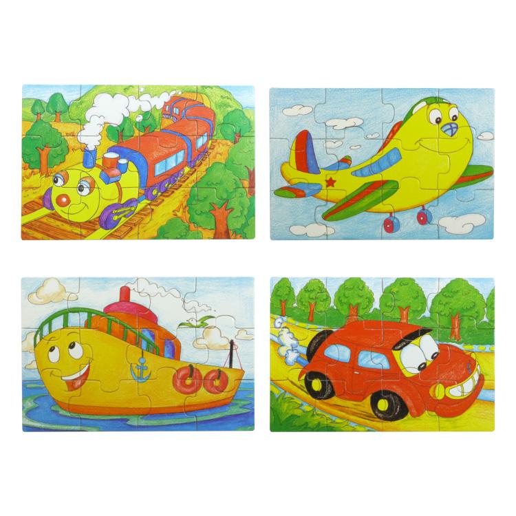 Puzzle mijloace de transport-5266
