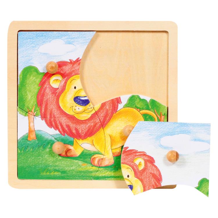 Puzzle cu butoane leul-5429