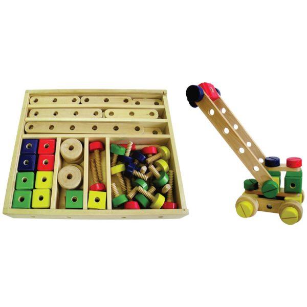 Set constructii lemn-0
