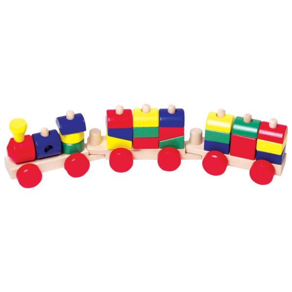 Trenulet cu forme geometrice-0