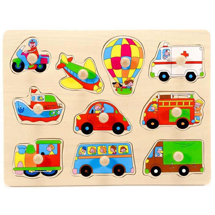 Puzzle mijloace transport-5273