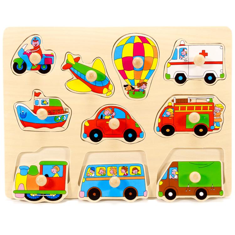 Puzzle mijloace transport-5272