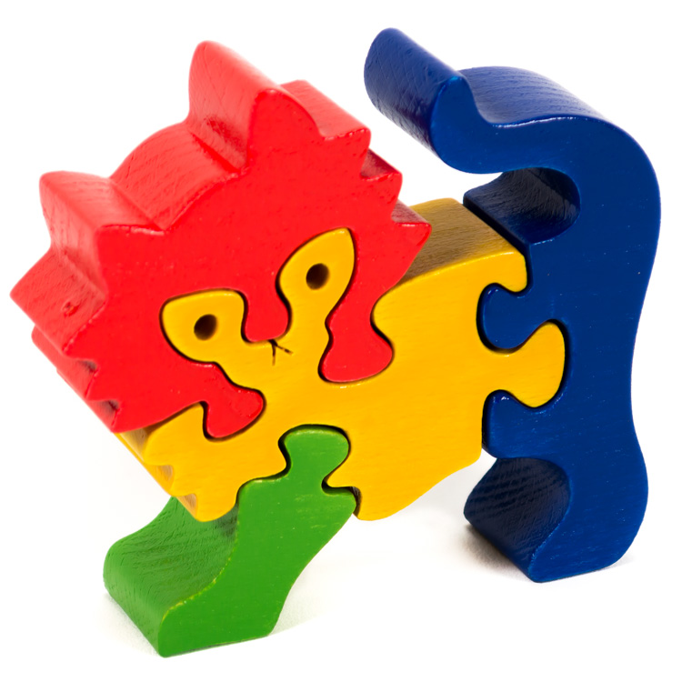 Puzzle zoo pisica-0