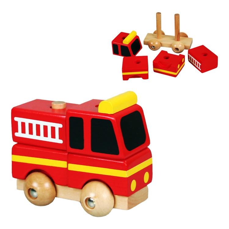 Mini masina pompieri demontabila-0