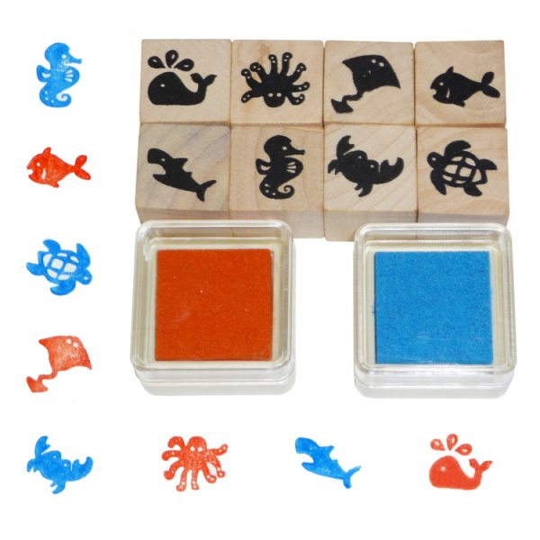 Stampile animale marine-0