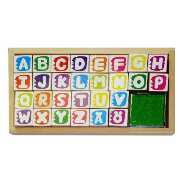 Set stampile alfabet-0
