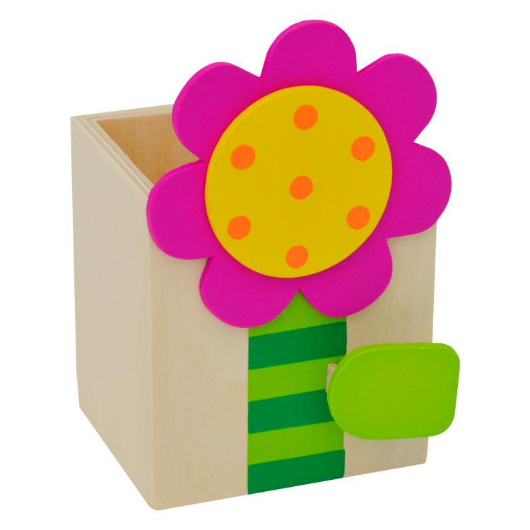 Cutie pentru creioane ( floare )-0
