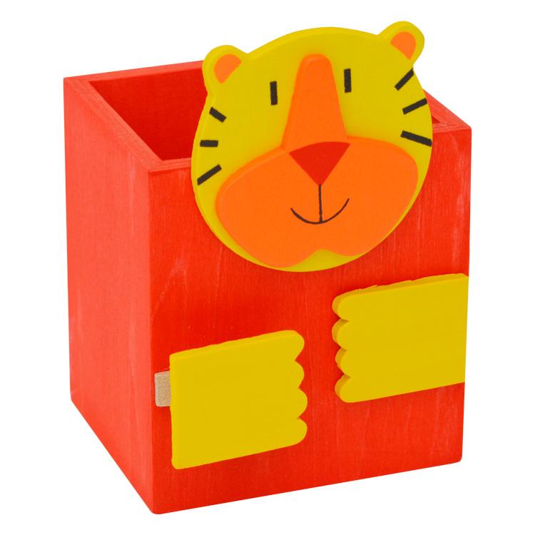 Cutie pentru creioane ( tigru )-0