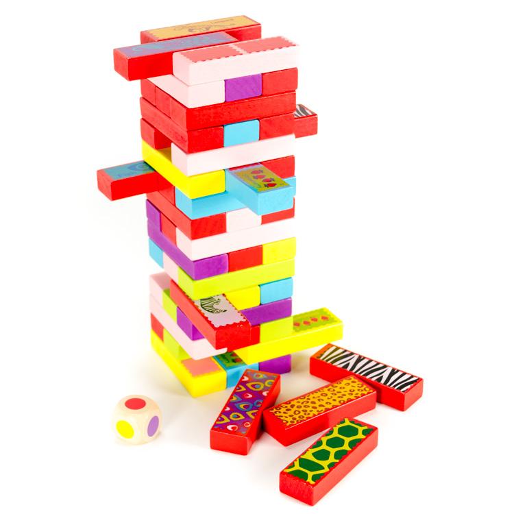 Set constructie, 3 in 1 (Jenga, Domino, Memorie) -5483
