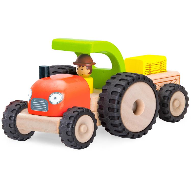 Tractor cu remorca cu magnet -0