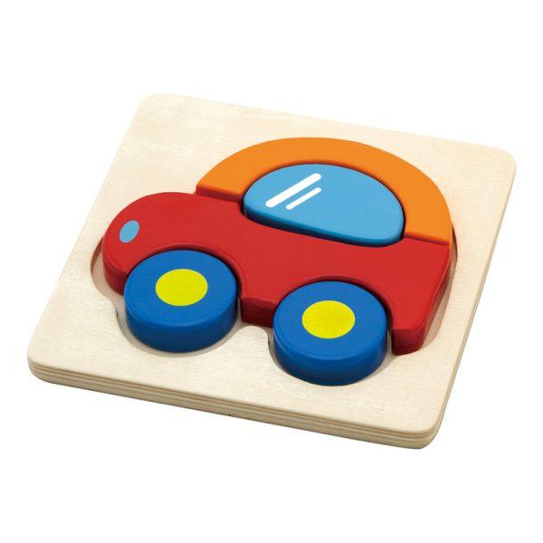Puzzle maşină 3D