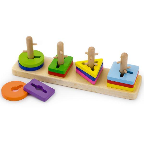 Joc cu forme geometrice cu obstacole-0