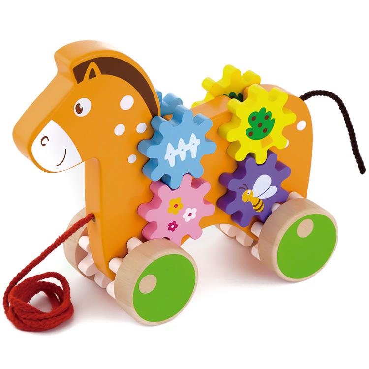 Trage jucaria - cal cu unelte-0