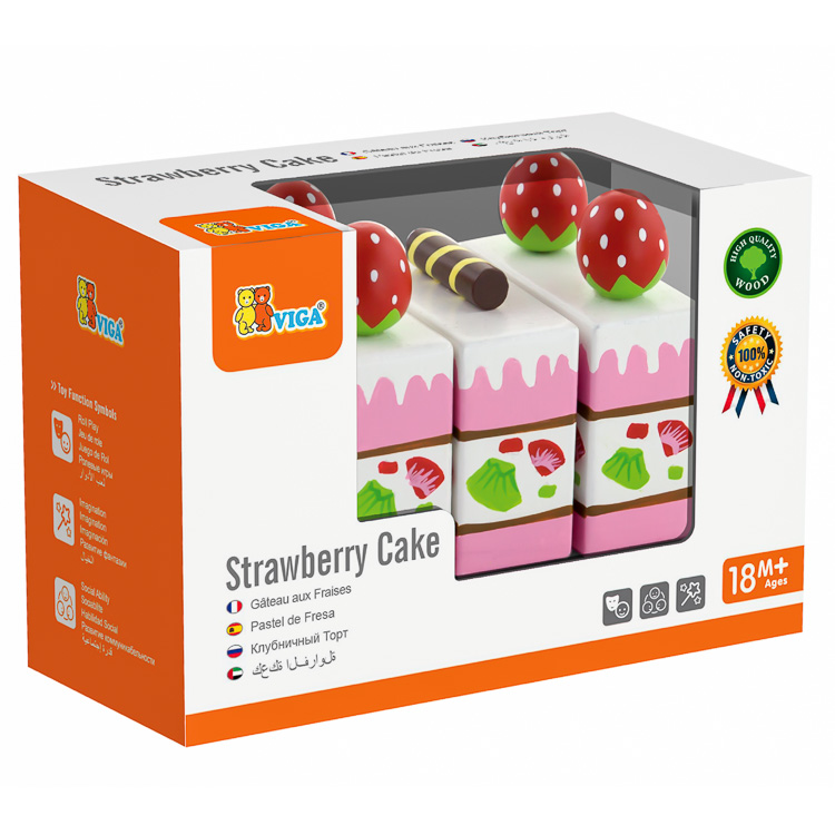 Tort de capsuni de taiat-0