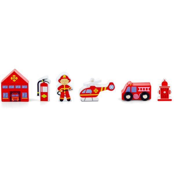 Accesori pentru tren (pompieri)-0